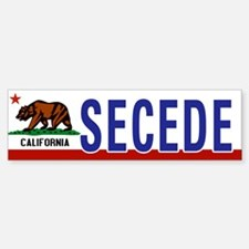 Secede - CALIFORNIA Car Car Sticker