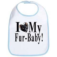 I (HEART) my Fur-Baby! Bib