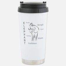 Unique Elephant Travel Mug