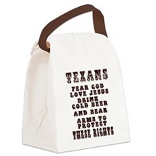 Texans Right to Bare Arms.png Canvas Lunch Bag