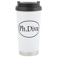 Funny Phd Stainless Steel Travel Mug