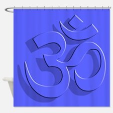 Om, 3D, Shower Curtain