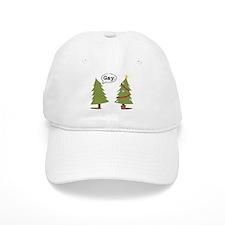 Christmas trees Baseball Cap