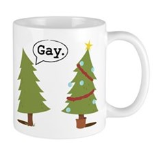 Christmas trees Mug