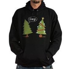 Christmas trees Hoodie