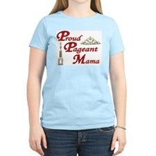 pageant mama Women's Pink T-Shirt