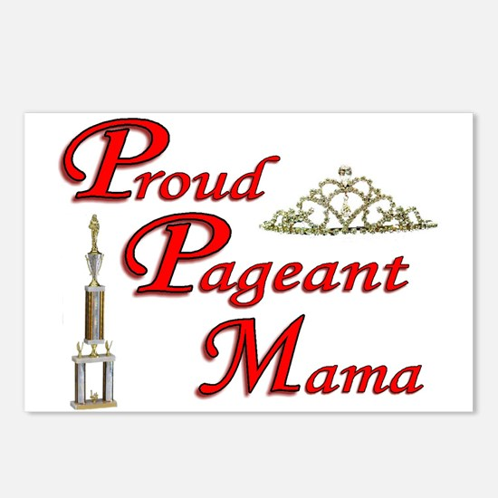 pageant mama Postcards (Package of 8)
