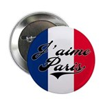 I love Paris Button