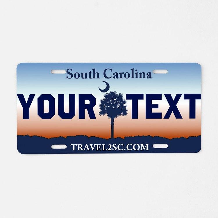 South Carolina current Palmetto license plate