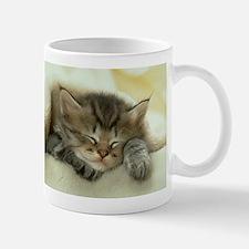 sleeping kitty Mug