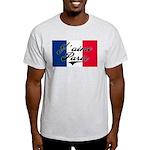 I love Paris  Ash Grey T-Shirt