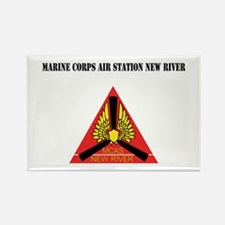 Marine Corps Air Station New River withText Rectan