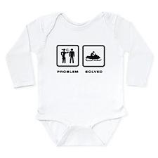 Snowmobiling Long Sleeve Infant Bodysuit