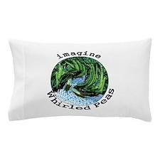 Imagine Whirled Peas Pillow Case