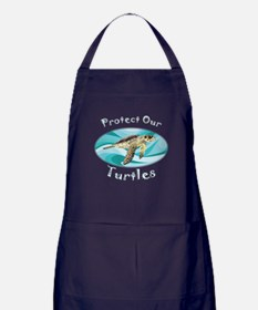 Sea Turtle Apron (dark)
