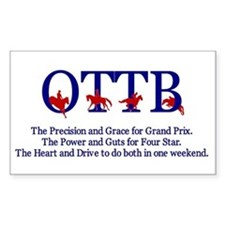 OTTB Rectangle Decal