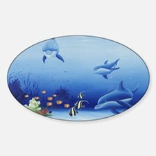 Dolphin Friends Decal