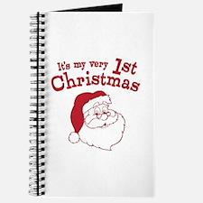 Retro 1st Christmas Journal