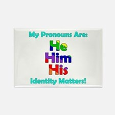 He Him His Pronouns Magnets