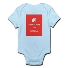 Keep Calm and Reroll Infant Bodysuit