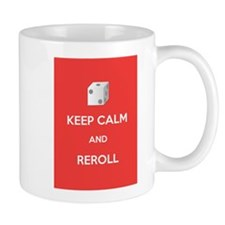 Keep Calm and Reroll Mug