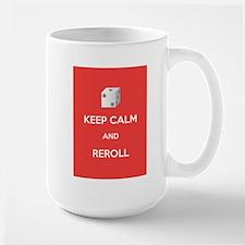 Keep Calm and Reroll Mug