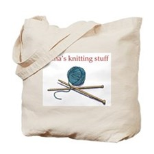 Cute Knitting tote Tote Bag