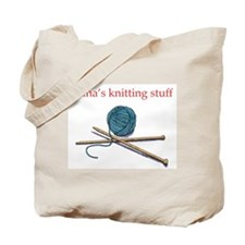 Unique Knitting tote Tote Bag