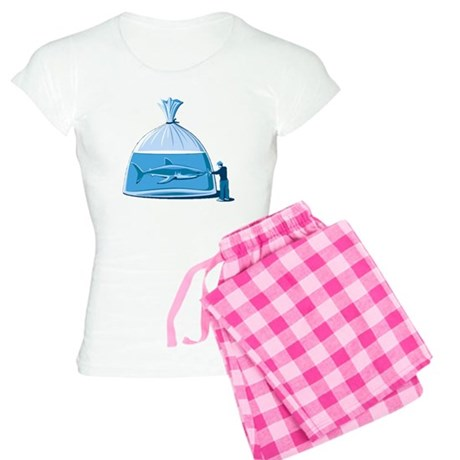Shark in a Bag Women's Light Pajamas