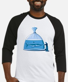 Shark in a Bag Baseball Jersey