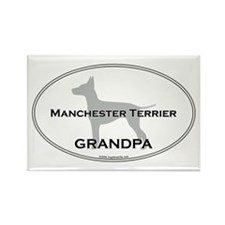 Manchester GRANDPA Rectangle Magnet