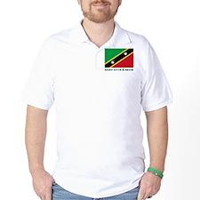 Flag of Saint Kitts & Nevis T-Shirt