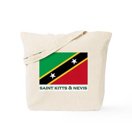 Flag of Saint Kitts & Nevis Tote Bag