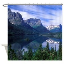 Montana Mountains Shower Curtain