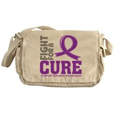 Epilepsy Fight For A Cure Messenger Bag