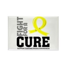 Endometriosis Fight For A Cure Rectangle Magnet