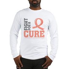 Endometrial Cancer Fight Long Sleeve T-Shirt