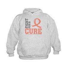 Endometrial Cancer Fight Hoodie