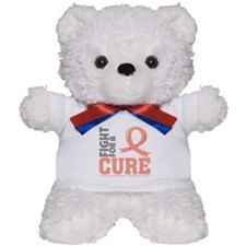 Endometrial Cancer Fight Teddy Bear