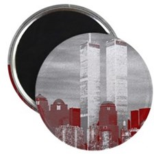 WTC Skyline Sketch Magnet