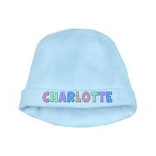 Charlotte Rainbow Pastel baby hat