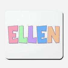 Ellen Rainbow Pastel Mousepad