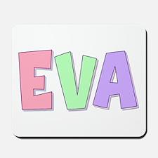 Eva Rainbow Pastel Mousepad