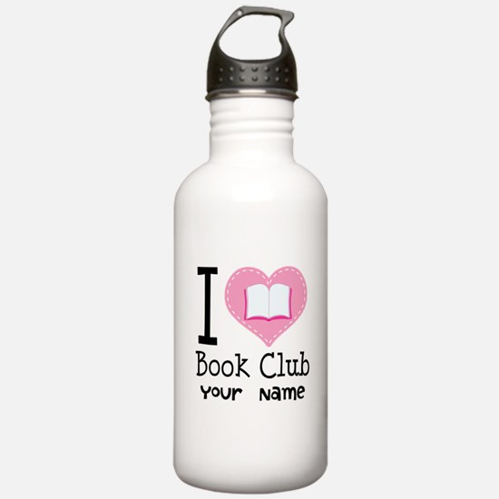 Personalized Book Club Water Bottle