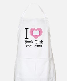 Personalized Book Club Apron