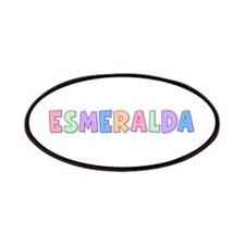 Esmeralda Rainbow Pastel Patch