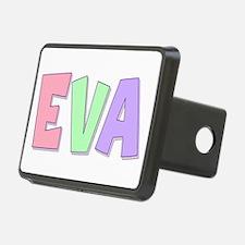 Eva Rainbow Pastel Hitch Cover