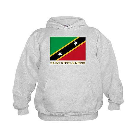 Saint Kitts & Nevis Flag Gear Kids Hoodie