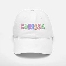 Carissa Rainbow Pastel Baseball Baseball Cap