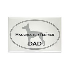 Manchester DAD Rectangle Magnet